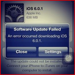 Fixing iTunes Error 3194 when updating iOS firmware