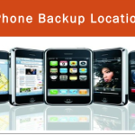 iPhone backup location
