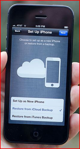 restoring iphone from backup how to restore iphone from icloud backup 16019