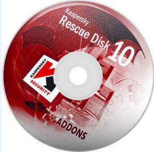 run rescue disk to get rid of malware