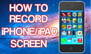 How to record iPhone Screen free
