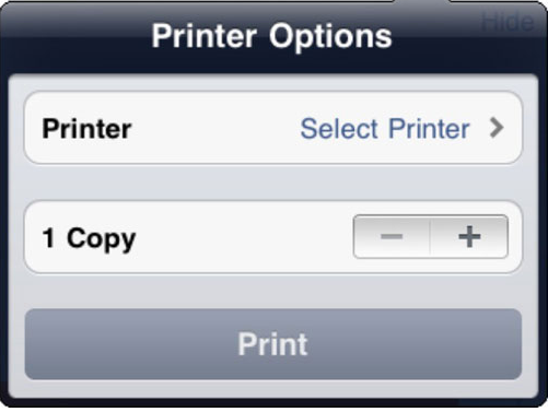 how to connect iPad to wireless printer