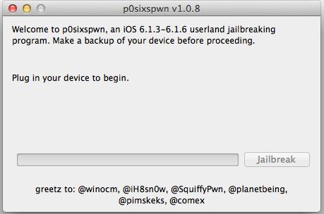Untethered Jailbreak iPhone 3gs 6.1.3