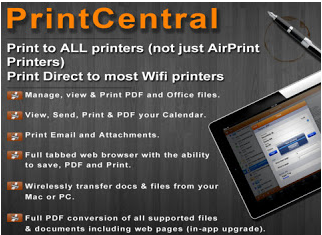how to hook up wireless printer to ipad My printer is wireless and i was wondering if it's at all possible to connect it to my iphone to print things.