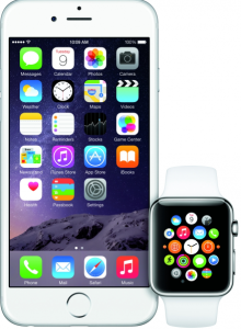 how does the iWatch work