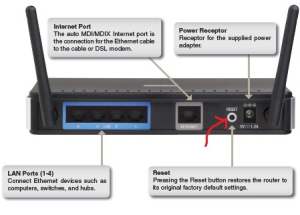 reset router to fix if internet disconnects frequently