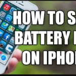 how to save iPhone battery