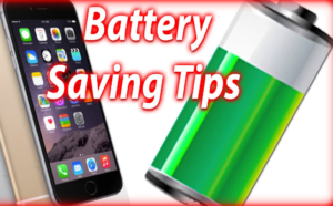 how to save iPhone battery draining fast