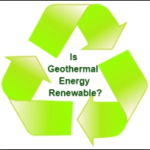 is geothermal renewable or nonrenewable