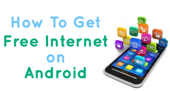 Free internet on your android phone