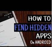 hidden apps on android
